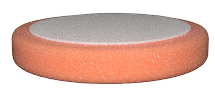 ETALON leštiaci kotúč na suchý zips 79mm x 25mm stredný oranžový