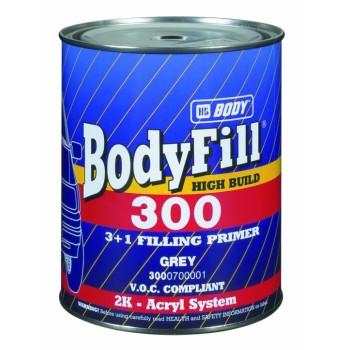 HB BODY fill 300 3:1 plnič čierny 1L