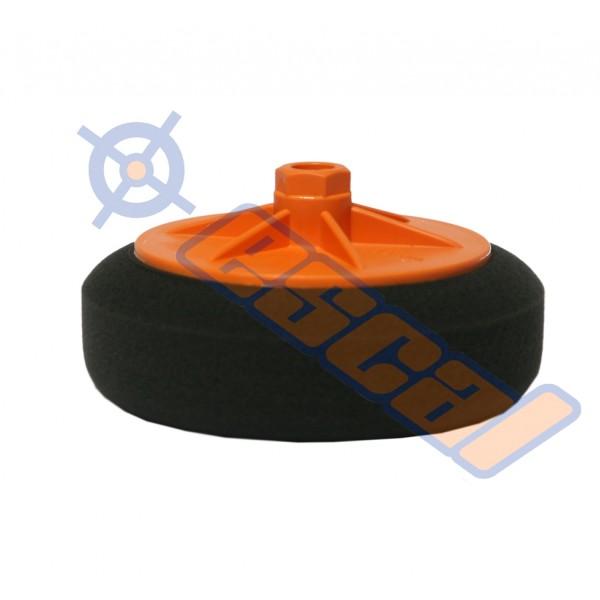 ESCAL Čierny hobby leštiaci kotúč na závit jemný, priemer 150mm
