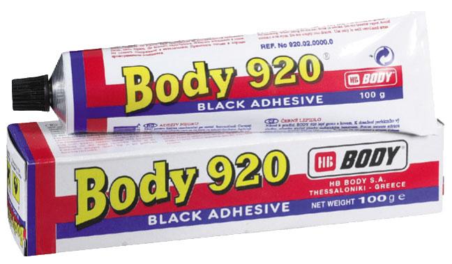 HB BODY 920 tuba tesniaca hmota čierna 100g