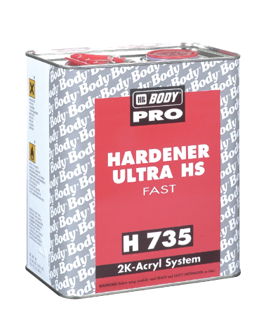 HB BODY H735 tužidlo rýchle k laku C494 0,5L