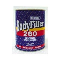 HB BODY 260 filler - striekací tmel 1L