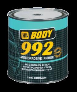 HB BODY 992 1k antikorózny základ šedý 1KG