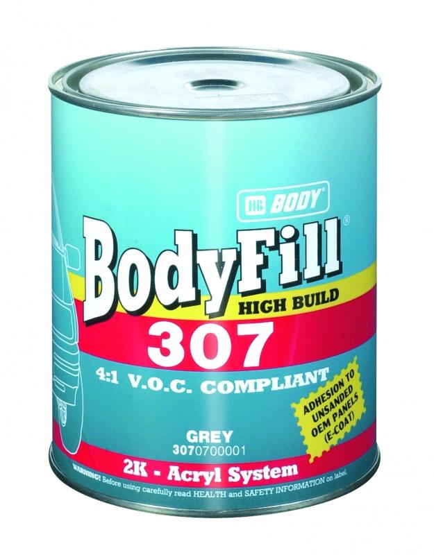 HB BODY fill 307 4:1 plnič šedý 4L