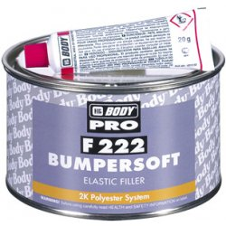 HB BODY tmel na plasty - bumpersoft F222 1KG