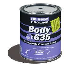 HB BODY PRIMER 635 5:1 plnič šedý 0,8L