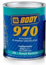 HB Body 970 2K  2:1 plnič  transparentný  1 l