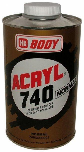 HB BODY 740 akrylové riedidlo normal 1L