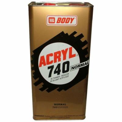 HB BODY 740 akrylové riedidlo normal 5L