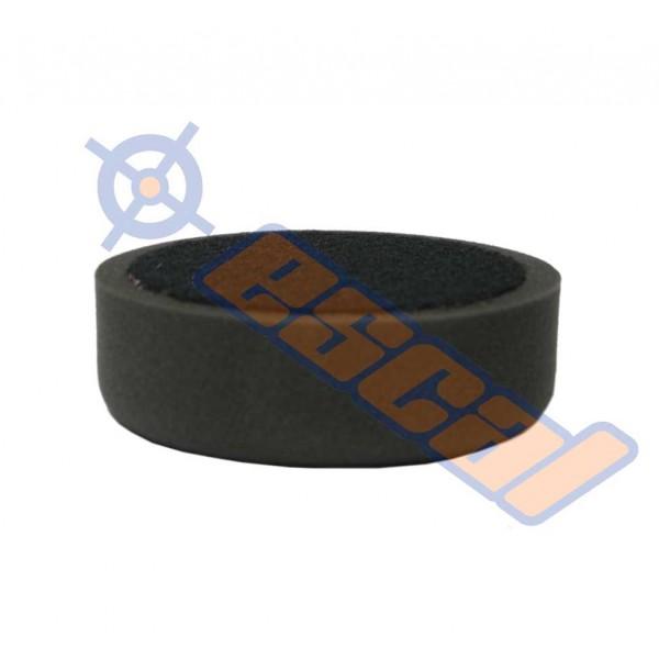 ESCAL Čierny hobby leštiaci kotúč na suchý zips jemný, priemer 150mm