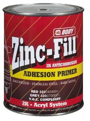 HB BODY ZINC FILL 320 - 2k zinková antikorózna farba šedá 1L