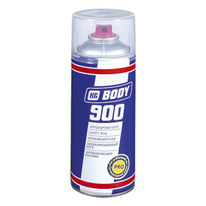 HB BODY 900 cavity wax -  sprej na dutiny transparentný 400ml