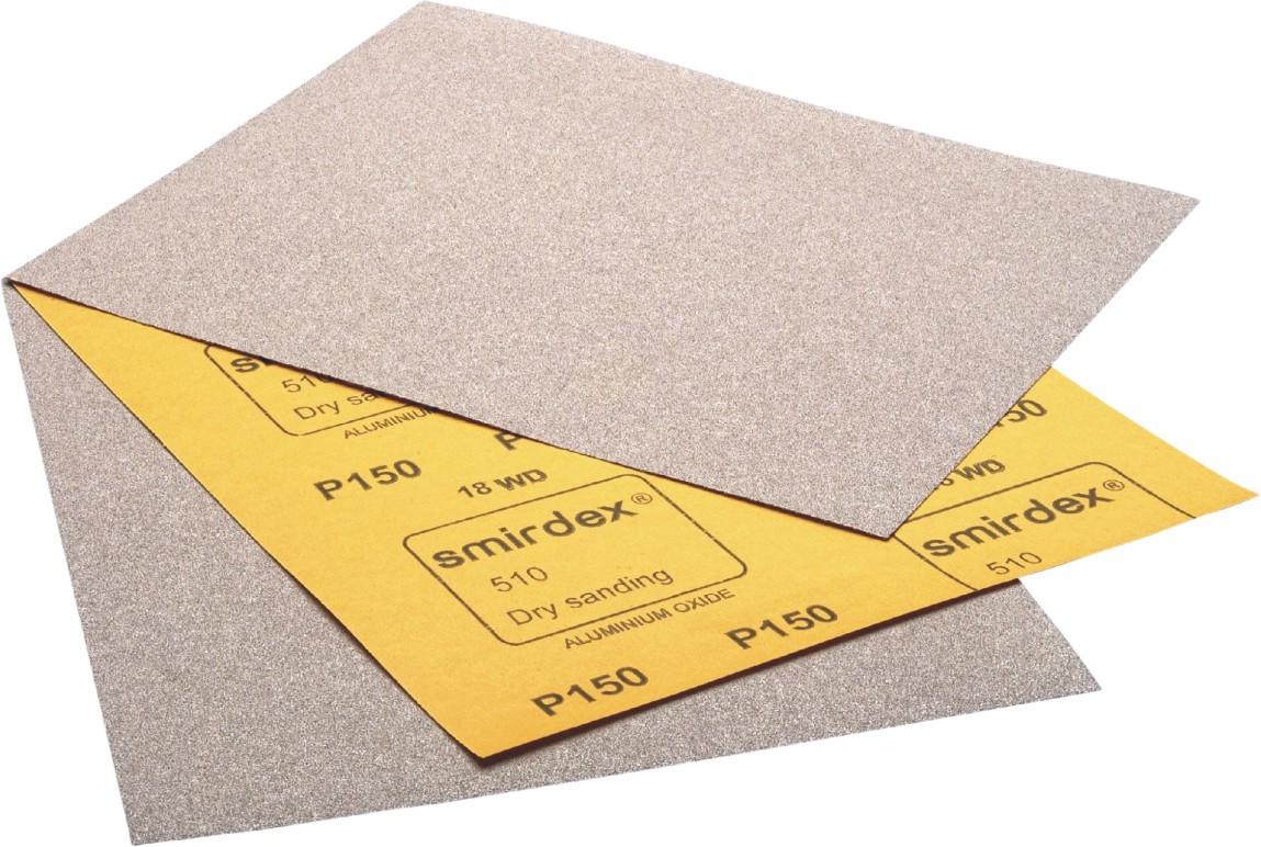 Smirdex 510 brúsny papier za sucha P100