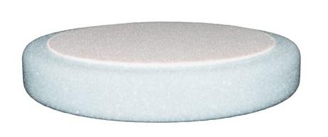 ETALON leštiaci kotúč na suchý zips 150mm x 25mm tvrdý biely