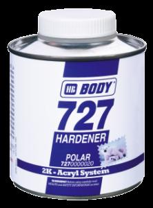 HB BODY 727 polar - veľmi rýchle tužidlo izokynátové 250ml