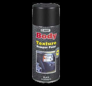 HB BODY bumper texture - textúrovaná farba na plasty v  spreji šedá 400ml