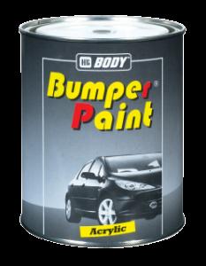 HB BODY Bumper Texture  - textúrovaná farba na plasty čierna 1L