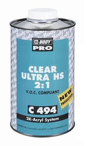 HB BODY C494 ultra HS 2:1 VOC akrylový lak 1L