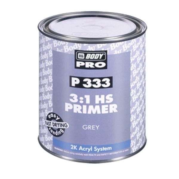 HB BODY PRIMER P333 HS 3:1 plnič biely 1L