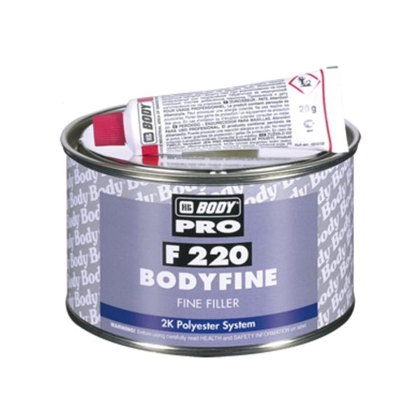 HB BODY fine F220 - tmel jemný 1kg