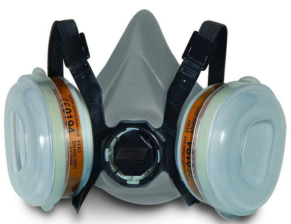 Respiračná maska dvojfiltrová A2P2