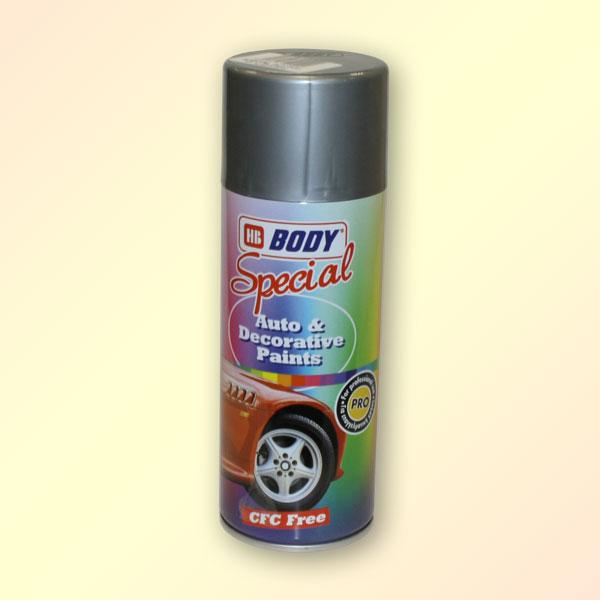 HB BODY 500 metalický sprej tyrkysový 400ml