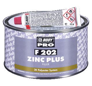 HB BODY zinc plus F202 - zinkový tmel 1,8kg