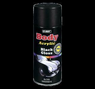 HB BODY univerzálna čierna lesklá farba v spreji  400ml