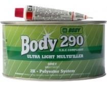 HB BODY 290 ULTRALIGHT - ODĽAHČENÝ TMEL ŠEDÝ 3L
